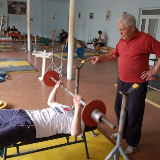 TRAINING PHASE: MUSCLE BUILDING TRAINING / 2009, Association of Georgian Weightlifters, Tbilisi