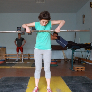 TRAINING PHASE: TECHNIQUE TRAINING / 2009, Association of Georgian Weightlifters, Tbilisi