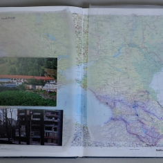 Apartment 11, southern eastern Europe, world atlas, 1994, Germany