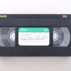 Apartment 11, VHS cassette, 1998, Tbilisi
