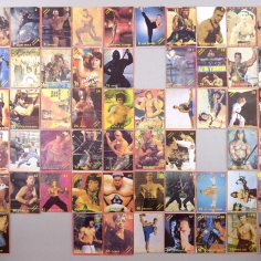"Apartment 11, ""street fighter"" card collection, 1994, Istanbul"