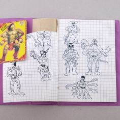 Apartment 11, sketchbook, 1994, loan from Arif A.