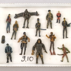 Apartment 11, plasticine figures, 1994 -1995, Tbilisi, private collection, Lado Khartishvili