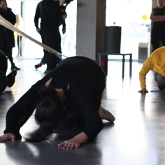 Bouillon Group, (Religious) Aerobics, 2019, performance, interaction, Garage Museum of Contemporary Art, Moscow, Russia// photo by Robert Mkhitarov